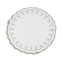 Americano Avulso Circular Siena Branco E Verde