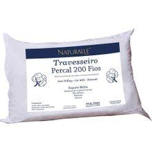 Travesseiro Naturalle Percal Suporte Medio 50x70cm