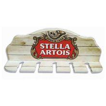 Porta Espeto Stella Madeira 5 Furos 40x15x8,5cm