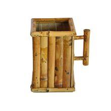 Suporte Para Suco De Caixinha Em Bambu