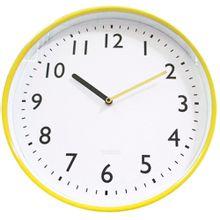 Relógio Parede All Clean Numbers Amarelo Ø37,8cm