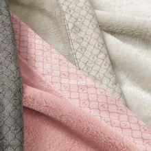 Cobertor Piemontesi Rosa Perla Casal 100% Microfibra 180x220cm Trussardi