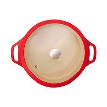 Caçarola Le Cook 20cm Vermelha 2,6L LC1842