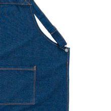 Avental Jeans Jardineira 70x85cm