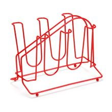 Porta Copos New Vermelho C24xL17,5xA18,5cm