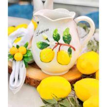 Jarra De Cerâmica Lemons 1,6l