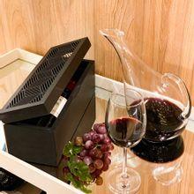 Caixa De Madeira Para 1 Garrafa De Vinho