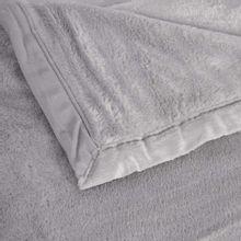 Cobertor Queen Soft 220x240cm 340gr Cinza Naturalle