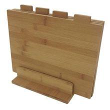 Conjunto Com 4 Tábuas De Bambu - Mimo Style